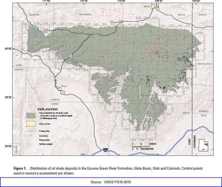 Uinta Basin Kerogen Formation, Utah