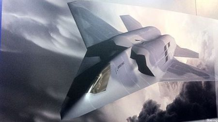 Boeing's early conception of the FX1 sixth generation fighter